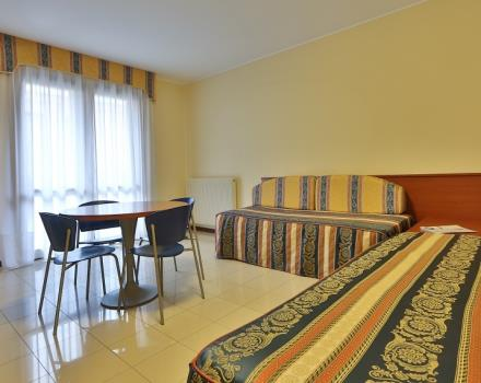 Two-roomed 3 star hotel in Tessera Venice