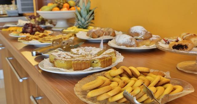Taste the breakfast at Best Western Titian Inn Hotel Venice Airport