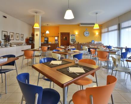 Start your day with breakfast the Hotel Titian Inn Venice Airport