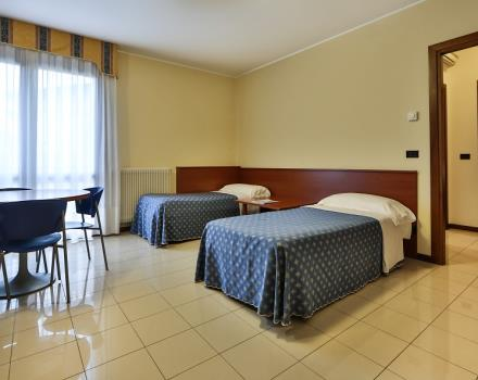 Discover the two-room apartment of BW Titian Inn  Venice Airport!